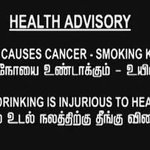 RT @OnlyKollywood: Smoking & Drinking caution not used in #Kaththi title card! RT if you know why. #Respect @ARMurugadoss #Vijay http://t.co/ivj65MkkHk