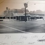 The intersection of Glen Iris & North Avenue captured by an original Sears employee. #O4W #tbt #atl http://t.co/qOCS5F5z8j
