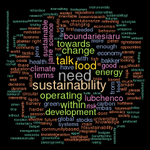 RT @Martin_Ecology: Words that have been tweeted as #solutions during those last 2 days #iaru2014 .@GlobChallenges .@UniversityPost http://t.co/phbixRylMJ