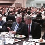 .@GOPLeader Kevin McCarthy talks with @ebay CEO John Donahoe at @svlglunch. Great to have you both here! W/1k friends http://t.co/mJ8mxBREDd