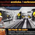 RT @airjibeer: Todesfalle Stuttgart 21 - Ein milliardenschweres Zukunftskonzept sieht anders aus! #s21 #ber #grüne #bahn #spd #cdu http://t.co/RTINbucpFo