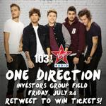 #1031VirginRadio presents @onedirection on July 24! RT b4 5 pm for a chance to win the 1st tickets! #1D1031 #Winnipeg http://t.co/ijsW9mtzIN