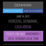 DENMARK!!!???????????? YES YES YES YES!!???? Im gonna die????????????❤️???????? @onedirection #1Dbigannouncement @onedirection http://t.co/X0PfFNU7rV