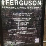"RT @AntonioFrench: Heading to the Columbia School of Journalism for ""#Ferguson: Reporting a Viral News Story"" http://t.co/jDsF2NM2qP http://t.co/JUt8Lp2m2m"