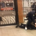 RT @ComplexMag: NYPD cop tries to kick suspect, kicks other cop instead. WATCH: http://t.co/JZob7qskud http://t.co/VAmvooq77d