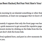 """""""Hacked by an islamist something or other"""" @maxasteele: Oh #Florida... lol http://t.co/LT72tip7cl http://t.co/lZ8ma1Brpa"""