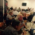 Compartiendo un rato muy agradable en el Centro de Mayores Juan Ramón Jiménez #Huelva http://t.co/LkSg7mNBmn