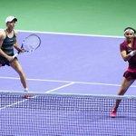 RT @drinksbreak_com: #Tennis @MirzaSania & Clara Black beat R Kops-Jones/A Spears 6-3 2-6 [12-10] to reach SF in WTA Tour Finals http://t.c…