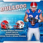 #BulldogCountry, make sure you get tickets for the Homecoming Game on Nov. 1 at 2:00 P.M. vs. WKU! #WeAreLATech http://t.co/On1B06Ns6i