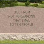 RT @9GAG: Better forward those emails before its too late guys... http://t.co/QvuY2MjRqE http://t.co/Zlatvn1oES