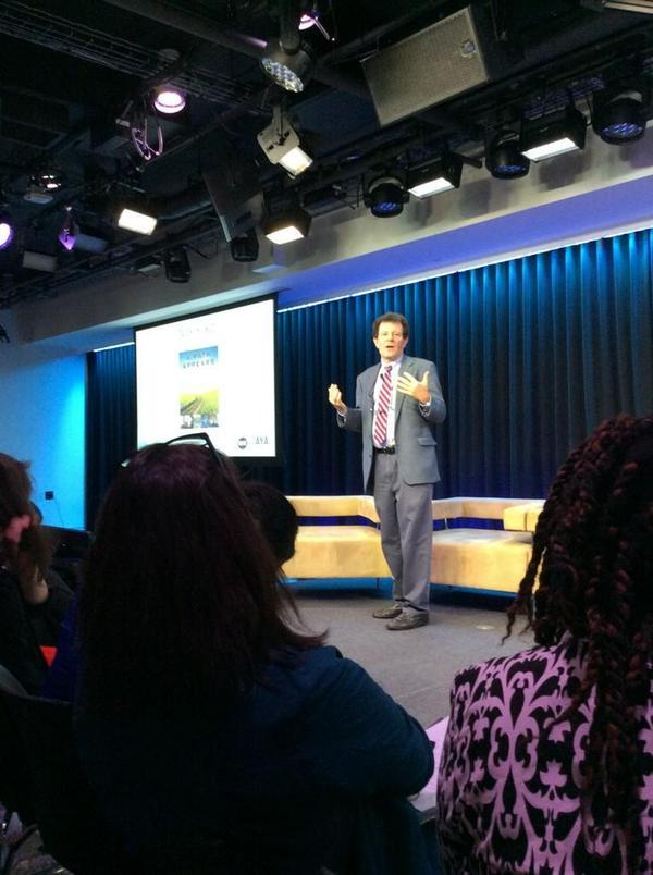 YES! RT @WorldMomsBlog: Can you feel his passion for humanitarianism? @NickKristof #AYASummit http://t.co/qHgu0qSZ4i