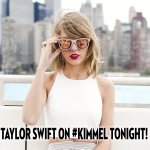 """""""@JimmyKimmelLive: .@TaylorSwift13 is taking over Hollywood Blvd. TONIGHT on #Kimmel! #TS1989 http://t.co/gLtSQzdxIE"""" sooo excited????????"""