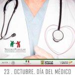 RT @segpopcoahuila: Por la gran labor de salvar vidas, celebramos a los médicos en su día @leojimenez2109 @SS_Coahuila @Seguro_Popular http://t.co/gFxASe1s5g