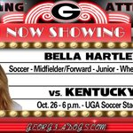 RT @UGAAthletics: Coming Attraction: Bella Hartley of @UGAWomensSoccer proves you cant keep a good Dog down http://t.co/0h9brBjDxz http://t.co/eJ9Jp4q1yE