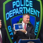 This new update to NYPD technology will make our police more efficient and our city safer. http://t.co/55krbFiuAo http://t.co/QH6Ek4quUa