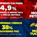 RT @PTLinhaDireta: #MaisEmprego Taxa de desemprego de setembro é a menor da série para o mês http://t.co/UctyCiCXiR http://t.co/jNUriaoo6l