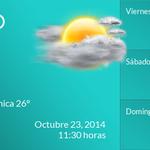 Buen día, la temperatura en #Tampico #Tamaulipas #MEX es de 26°C. http://t.co/iZ0L2F8eBN