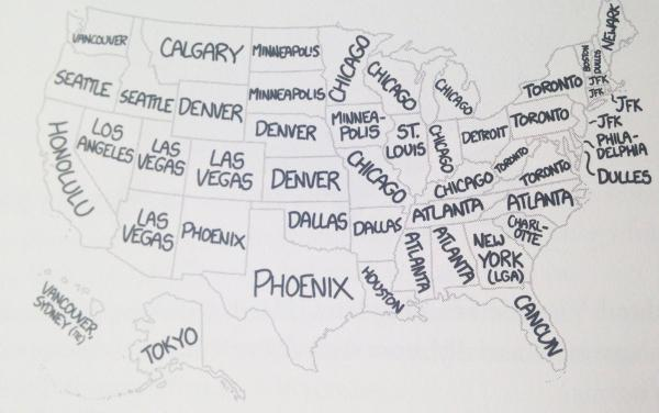 Which #airport originates the most flyovers of your state? The map according to #xkcd: http://t.co/YPbLFnjjmi http://t.co/igTZBkXb2Q
