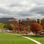Looking toward Mt. Nittany from the top floor of the Millennium Science Complex @penn_state #PSU24 http://t.co/XhJQHm4vTW