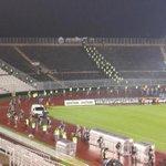 Belgradda Partizan Stadında Beşiktaşlılara ayrılan tribün hazır. AvrupadaGURURLANdırBiziBEŞİKTAŞ http://t.co/7XKCWad7Tp