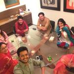 "RT @Riteishd: The Deshmukhs ""@honeybhagnani: D-wali Diwalii @Riteishd @Amitisthename @aditi_ad @geneliad !!! http://t.co/QhplEn26ZS"""