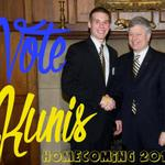 Homecoming voting opened at noon! Go go go vote on http://t.co/HW53Weg1eS! #kunis4king http://t.co/D0lUr6J8BF