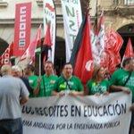RT @CGT_Diego: En estos momentos comienza la concentración por la #EducacionPublica en #Huelva http://t.co/kqAQIyLXaO