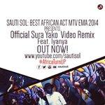 RT @SautiSol: We won Best African Act MTV EMA! Gift here - #SuraYako REMIX …: http://t.co/H32soScDPk feat @Iyanya #AfricaTurnUP http://t.co/5bIEHVJaBO