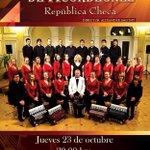 HOY! Única Función Desde la República Checa para #Saltillo Orquesta de Acordeones 8pm No te lo puedes perder! http://t.co/CnvfAp6XxD