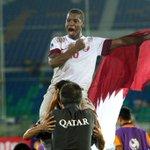 صور احلى الختام مع فرحة بطل اسيا #قطر #كاس_اسيا_للشباب #استاد_الدوحة #قطر http://t.co/zrptMumKo9