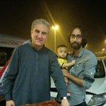 RT @xainbaig1: No Protocol No Security Yeh Hai PTI With Shah mehmood Qureshi at Lahore Airport http://t.co/EKDHQ6wRKZ