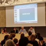 En la presentación de @Believe_in_Art un proyecto a seguir. Arte y sensibilidad en hospitales. #Zaragoza http://t.co/fTohycfD1z