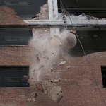 Wrecking ball starts work to take down Blumeyer public housing high-rise in #STL http://t.co/WdheUm535r http://t.co/Oip11n2ABQ