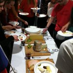 Its the Astbury Society beer, wine & cheese night with @Homage2Fromage. The best of French and #Yorkshire produce! http://t.co/1CMsVEi8TT