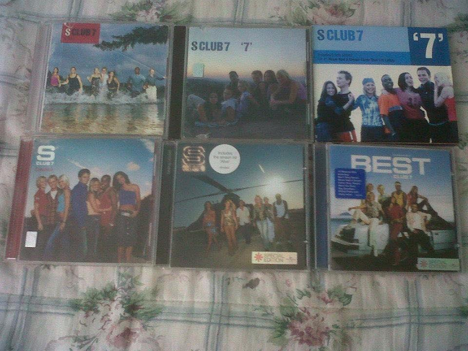 Hard to find items, plus mexican promo for #BringItAllBack @SClub7 :D http://t.co/wnUN6kJsHE