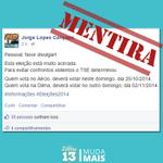 RT @MudaMais: Analista de redes sociais do PSDB espalha mentiras na web para confundir eleitores http://t.co/ZZWIAbXBTp http://t.co/Z5G7EsSsK3