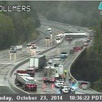From our traffic cam at Vollmers: Please slow down and use caution! Watch for emergency workers. http://t.co/hHC4GMughg