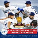 Congratulations to the #Dodgers FOUR #RawlingsGoldGlove Award finalists! Most from any team in the National League! http://t.co/UALeJAVvHK