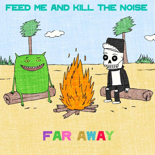"""@killthenoise x @feedme's """"Far Away"""" is out! Check the @billboard exclusive to hear the track! http://t.co/Ieil2EmXym http://t.co/O1LWCyJfiT"""