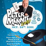 RT @OEVCASec: Feel like the magic is gone? Youre in luck! @petermennie brings it to the @WesternFair Friday night. #ldnont #OEVLdn http://t.co/pI5BziqNoD