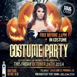 18+ HUGE #HALLOWEEN COSTUME PARTY TONIGHT IN POMONA! FREE ENTRANCE! TEXT9512347774 (BLOWFRIDAYS) ???????????? http://t.co/UA2EcsGHLu #FREE FREE