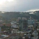 Fog rolling over the West Hills. #Portland #romantic @brian_clemens @AMHQ @SamChampion @kristenKOIN6 @RileyOConnorwx http://t.co/dfn8zi8aaA