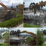 Comienza demolición de módulo en el #Cunoc. Aquí los detalles: http://t.co/Vt7IRk4AJK http://t.co/kUJIiHBaOX