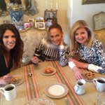RT @ariannahuff: Talking w/ @jlo & @LyndaLopez08 about what a great time it is for women at home in LA #JLoTrueLove
