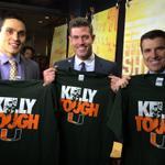 The ESPN Thursday night crew is #KellyTough http://t.co/e99IJLzyaS