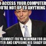 Hypocrisy seems second nature to #Australias Christian Prime Minister @TonyAbbottMHR #auspol http://t.co/NqNRKVr6V5