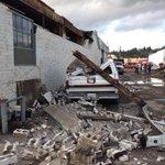 RT @reggieaqui: No one hurt. I dont know how. Longview tornado hit six blocks of downtown. http://t.co/ohG7Rh4SCC http://t.co/AIfYx2aofc