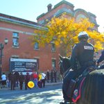 Many condolences for Cpl. Nathan Cirillo at City Hall & the James St Armoury. This is what makes #HamOnt special. http://t.co/J0hUIPN7yn