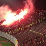 Belgrad deplasmanında Beşiktaş taraftarları http://t.co/arc5CwudD9