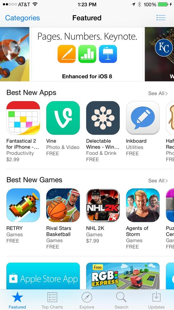 Thanks #Apple for featuring @delectable on Best New Apps! http://t.co/QLqHHe5U89